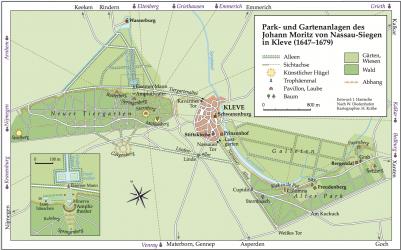 Die Historischen Parks und Gärten     in Kleve
